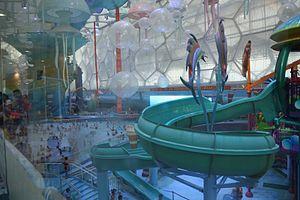 Water park - Modern indoor waterpark