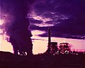 Mohave Generating Station near Laughlin, Nevada during Unit 2 Overhaul 1980 JAGRAFX.jpg