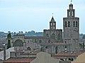 Monestir de Sant Cugat des d'un terrat.jpg
