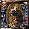Monk tasting wine from a barrel.jpg