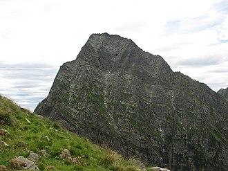 Monte Tagliaferro - NW face