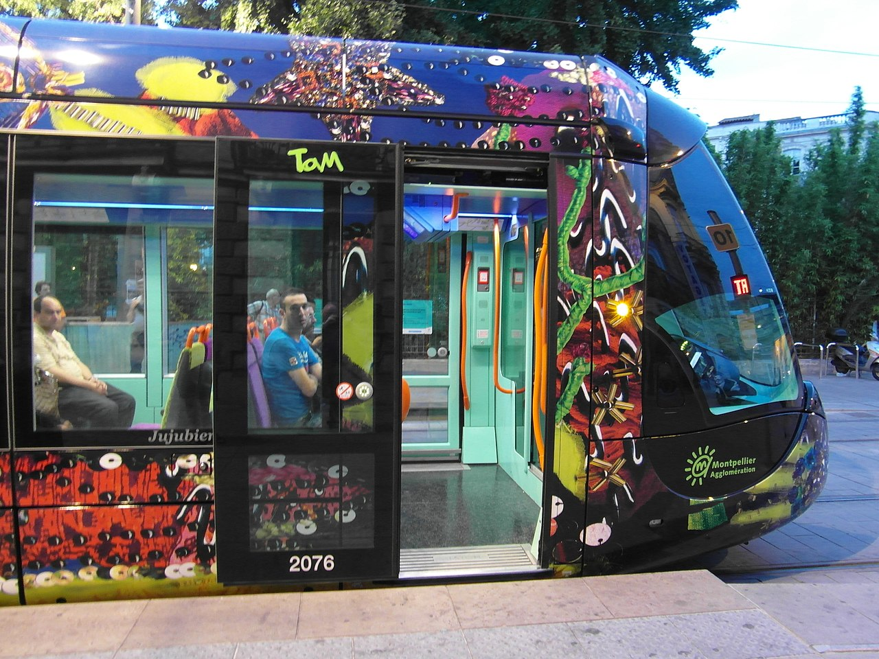montpellier tram line 3 rome - photo#26