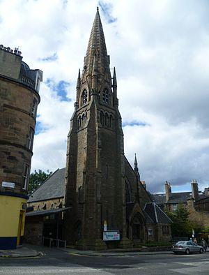 Holy Corner - Image: Morningside Baptist Church, Edinburgh