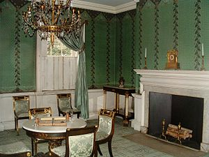 Morris–Jumel Mansion - Part of the interior of the Morris–Jumel Mansion as it appears today
