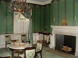 Morris–Jumel Mansion - Part of the interior of the Morris–Jumel Mansion as it appears today