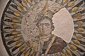 Mosaic portrait representing Queen Berenice II, wife of Ptolemy III, showing her with prow of warship on her head symbolizing the city of Alexandria, found at Thmuis, Ptolemaic period, Alexandria National Museum, Egypt - 50799425648.jpg