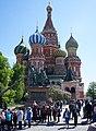 Moscou.- St. Basil's Cathedral extérieur (en2018) (4).JPG