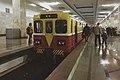 Moscow metro VEKA-001 battery shunter car Partizanskaya (2).jpg