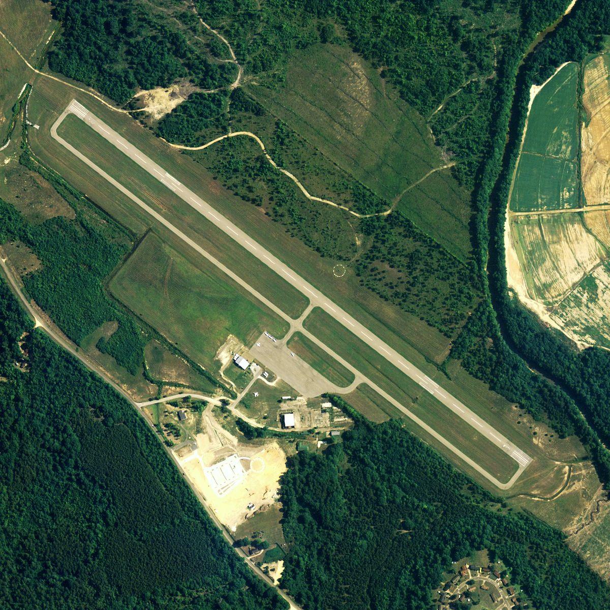 Elevation And Plan : Moton field municipal airport wikipedia