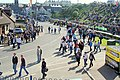 Motor cycle race fans relocate between races at the Northwest 200 - geograph.org.uk - 434424.jpg