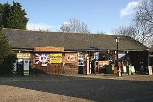 Battlesbridge - Image: Motorcycle museum battlesbridge