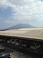 Mount Sakurajima from Kagoshima Station.jpg