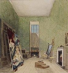 La Salle de peinture de Mr Fuseli à Somerset House