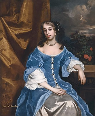 Heneage Finch, 1st Earl of Nottingham - His daughter Elizabeth (Peter Lely)