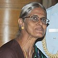 Ms. B. Codanayaguy, Puducherry, at a function, on the occasion of the International Women's Day, at Rashtrapati Bhavan, in New Delhi (cropped).jpg