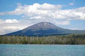 Mount Bachelor - Mount Bachelor from Little Lava Lake
