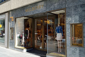 Mulberry (company) - Mulberry in Toronto
