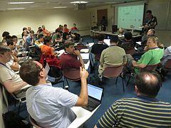 Multimedia Roundtable - Wikimania 2013 - 08.jpg