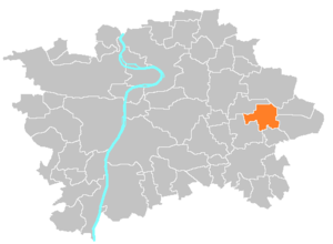 Běchovice - Image: Municipal district Prague Bechovice