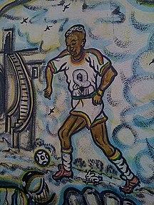 Senegal-Sport-MurPeint-ElHadjDiouf-Dakar-Sénégal
