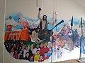Mural en Casa cural de Parroquia de San Juan Bautista Coscomatepec, Veracruz 03.jpg