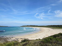 Murramarang Beach at Bawley Point, NSW