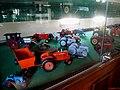 Museu Agromen de Tratores e Implementos Agrícolas, localizado no complexo do Centro Hípico e Haras Agromen em Orlândia. Miniaturas de Tratores - panoramio.jpg