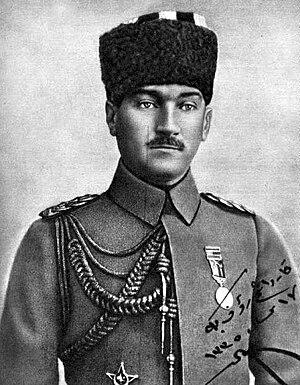 Timeline of the Turkish War of Independence - Image: Mustafa Kemal Atatürk met onderscheidingen