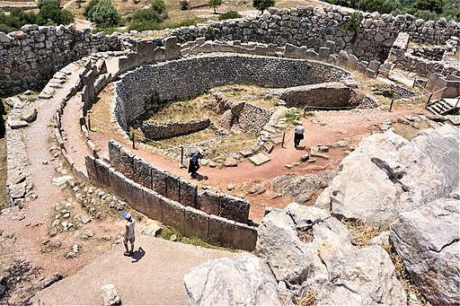 Mycenae Grave Circle A by Joy of Museums