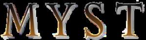 Myst (series) - Image: Myst logo