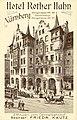 Nürnberg - Königstraße - Hotel Roter Hahn - um 1908.jpg