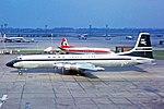 N228SW CL-44-D4 BOAC Cargo - Seaboard World LHR 06MAR64 (6806257681).jpg