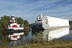 NASA Barge Pegasus, on the Pearl River.jpg