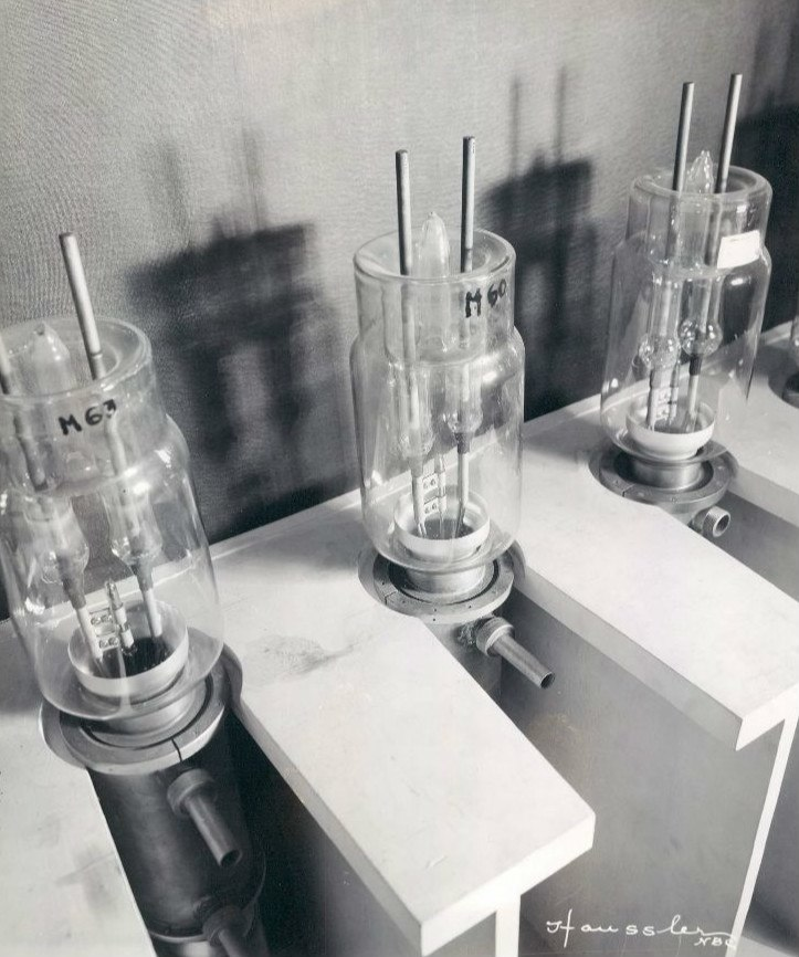 NBC television high frequency tubes 1936