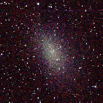 Dwarf spheroidal galaxy - Image: NGC 0147 2MASS