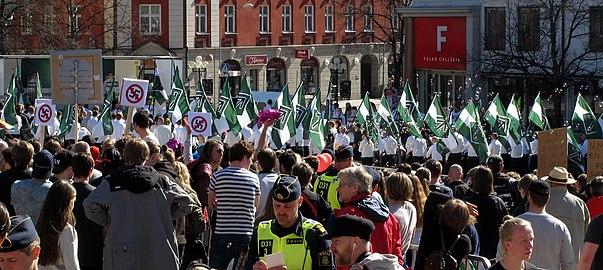 NMR och motdemonstranter i Falun.jpg