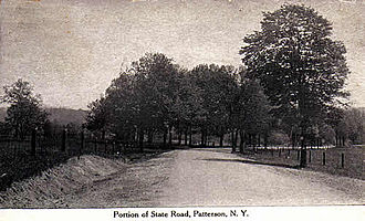 New York State Route 22 - A picture of State Road in Patterson, which would later become part of 22