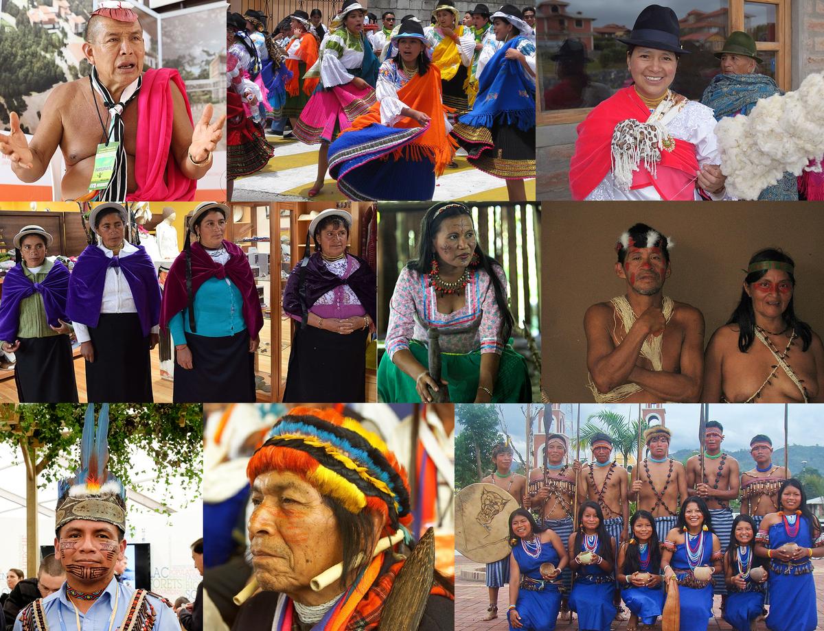 Indgenas en Ecuador  Wikipedia la enciclopedia libre