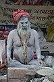 Naga Sadhu - Gangasagar Fair Transit Camp - Kolkata 2013-01-12 2497.JPG