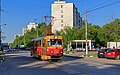 Nagatinsky Zaton SudostroitelnayaStreet with tram 05-2015.jpg
