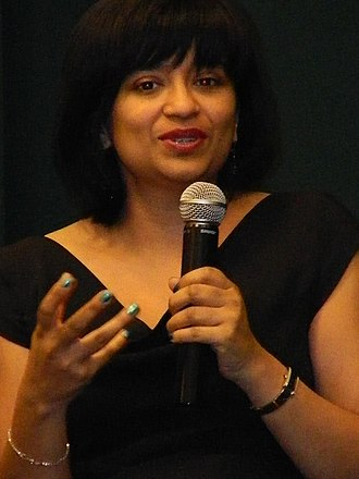 Nalini Singh (author) - Nalini Singh discusses Heart of Obsidian in New York.