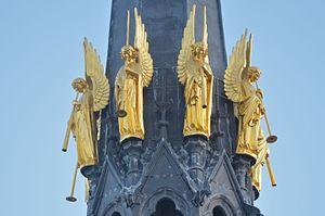 Nantes - Basilique Saint-Nicolas (détail 2)