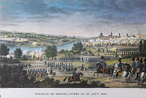 Battle of Dresden - Image: Napoleon.Dresden