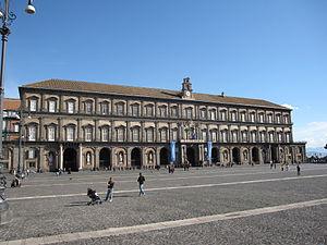 Royal Palace of Naples - Royal Palace façade