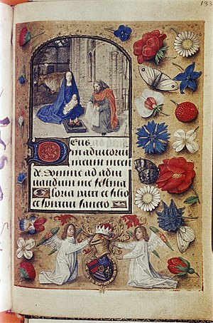Book of Hours of Engelbert of Nassau - A page from the Hours of Engelbert of Nassau