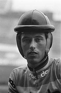 Piet de Wit Dutch track cyclist