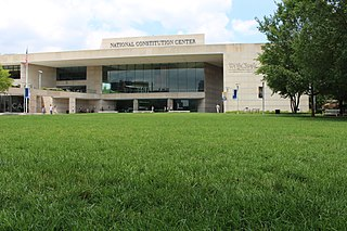 National Constitution Center History museum in Philadelphia, Pennsylvania