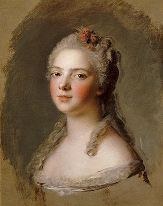 Adélaïde of France (1732–1800) - Madame Adélaïde in 1750