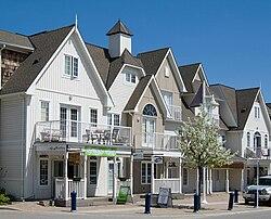 Villaggio nautico sul lago Ontario