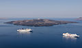 Nea Kameni seen from Fira - Santorini - Greece - 02.jpg